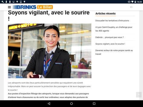 Brink's Le Billet screenshot 9