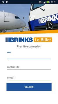 Brink's Le Billet poster