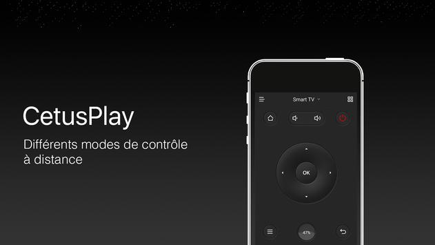 Télécommande | Fire TV | Android TV | CetusPlay Affiche