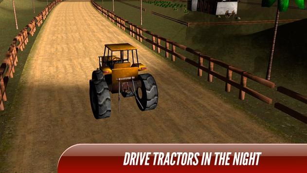 Tractor Trolley Real Farming Tractor 3D screenshot 8