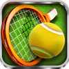 Berühr Tennis 3D Zeichen