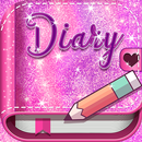 Pink Glitter Secret Diary APK Android