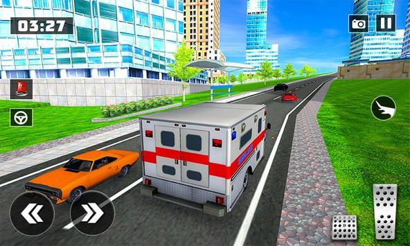 Flying City Ambulance Simulator 2019 screenshot 4