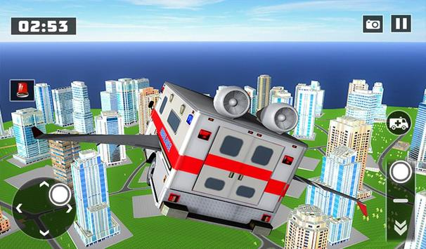 Flying City Ambulance Simulator 2019 screenshot 13