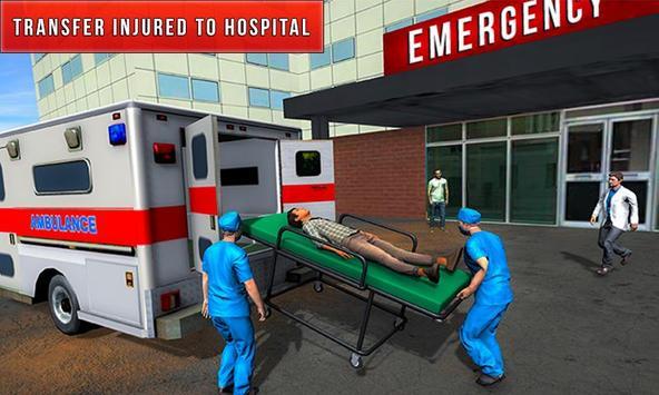 Flying City Ambulance Simulator 2019 screenshot 2