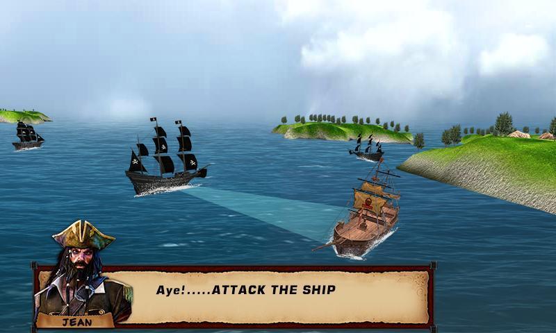 Pirate Ship Battle 3D: Naval Fleet Loot & Plunder for