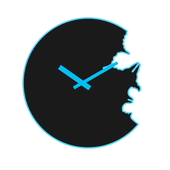 Icona Butterfly Analog Clock Widget