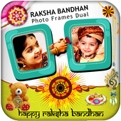 Raksha Bandhan Photo Frames Dual icon