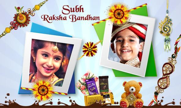 Raksha Bandhan Photo Frames Dual poster