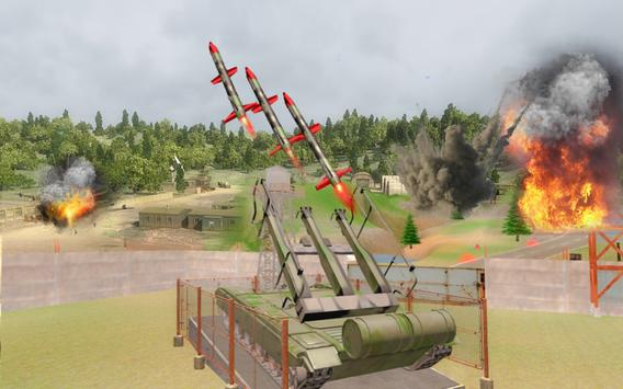 Army Missile Launcher Attack Best Army Tank War screenshot 1