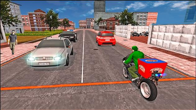 Pizza boy delivery games: real racing Stunt Free screenshot 3