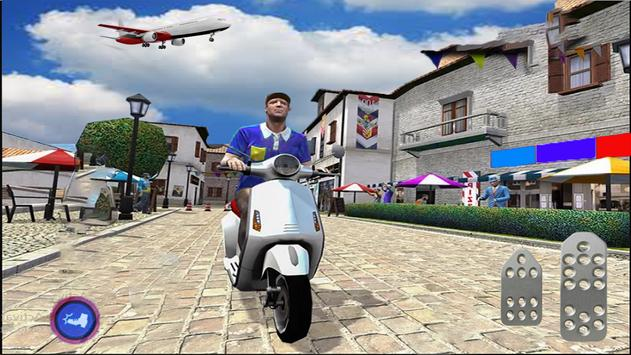 Pizza boy delivery games: real racing Stunt Free screenshot 2