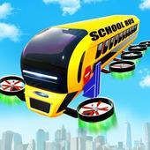 Flying School Bus icon