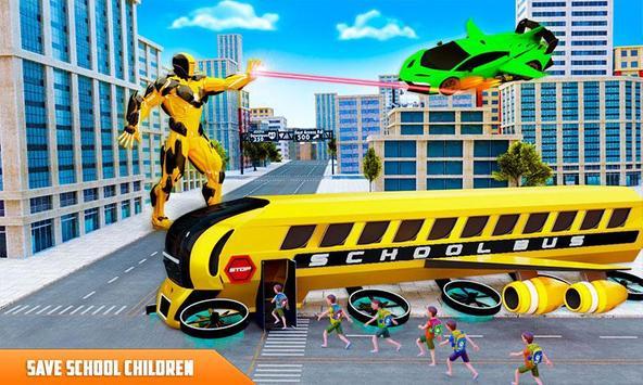 Flying School Bus screenshot 1