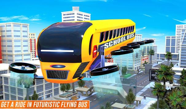 Flying School Bus screenshot 13