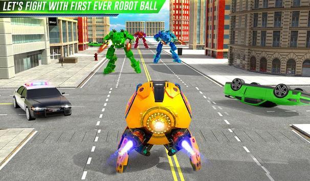 Futuristic Ball Robot Transform: Robot Games screenshot 11