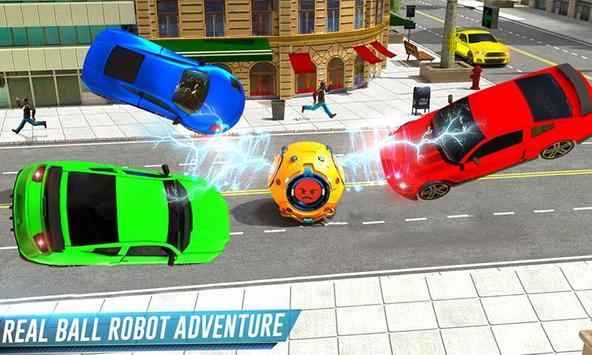 Futuristic Ball Robot Transform: Robot Games screenshot 1