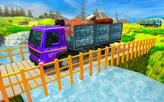 Indian Cargo Truck Driver Transport Games 2019 screenshot 1