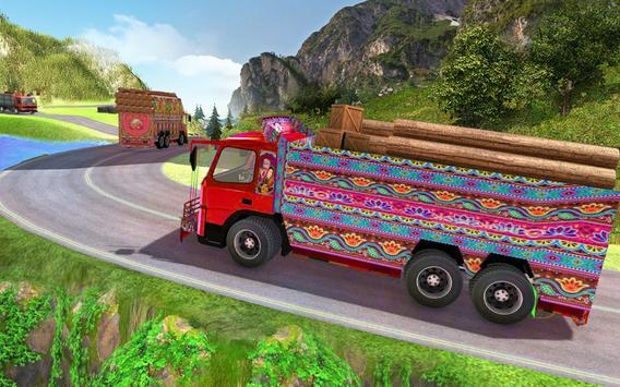 Indian Cargo Truck Driver Transport Games 2019 screenshot 2