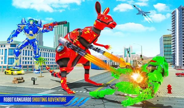 Grand Kangaroo Robot Car Transformation Robot Game screenshot 10