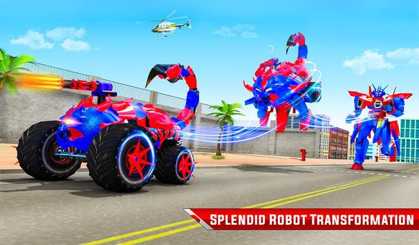 robot kalajengking truk monster membuat game robot screenshot 17