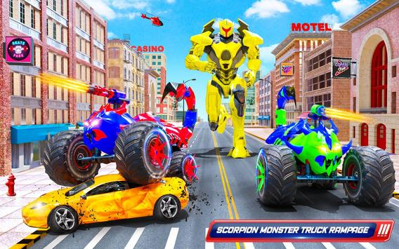 robot kalajengking truk monster membuat game robot screenshot 9