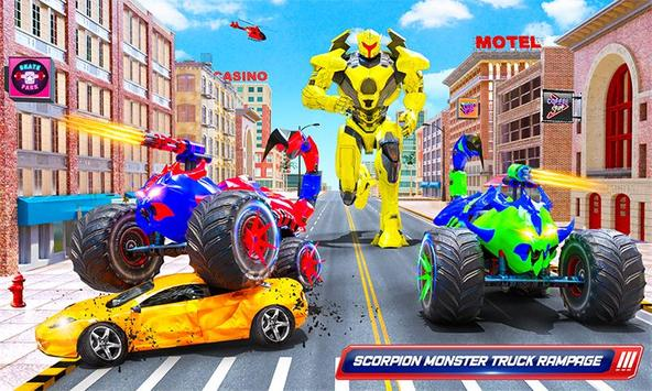 robot kalajengking truk monster membuat game robot screenshot 3