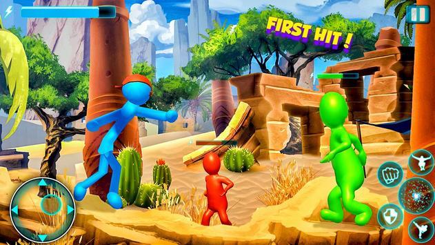 Stick Fighter 3d: New Stickman Fighting games 2020 screenshot 6