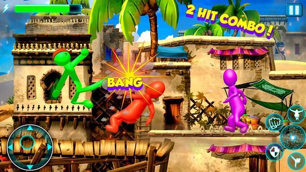 Stick Fighter 3d: New Stickman Fighting games 2020 screenshot 9