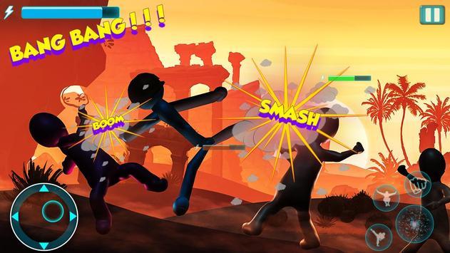 Stick Fighter 3d: New Stickman Fighting games 2020 screenshot 2