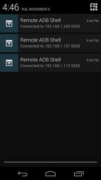 Remote ADB Shell captura de pantalla 1