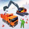 Snow Blower Excavator Crane Simulator アイコン