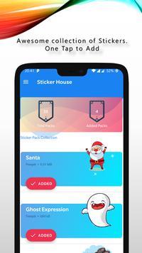 Sticker House & Status Downloader | WAStickerApps ポスター