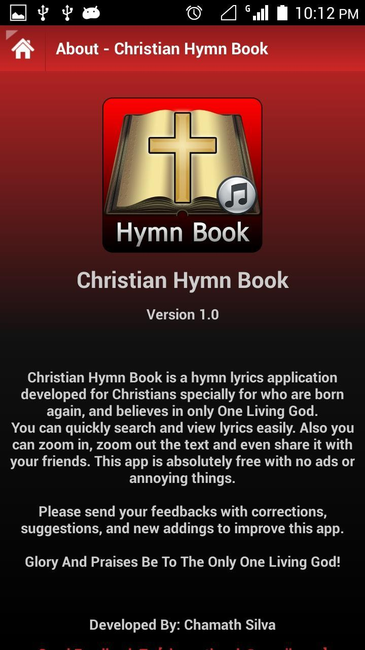 Christian Hymn Book for Android - APK Download