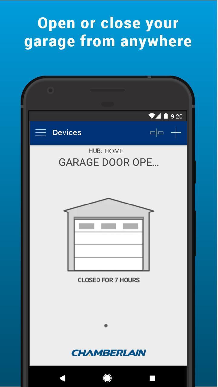 Myq Smart Garage Control For Android Apk Download - garage door new roblox