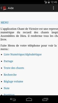 Chants de Victoire screenshot 8