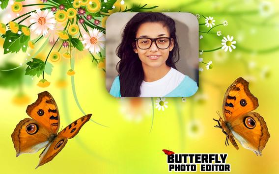 Butterfly Photo Frame Editor HD Background Maker poster
