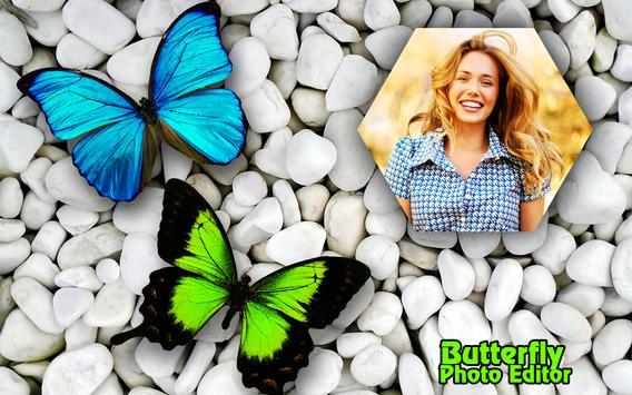 Butterfly Photo Frame Editor HD Background Maker screenshot 1