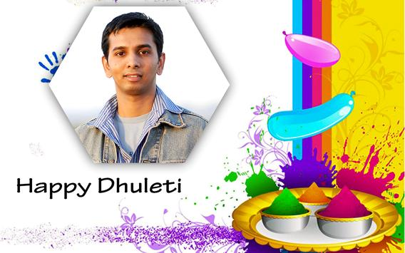 Happy Dhuleti Photo Frame Editor screenshot 11