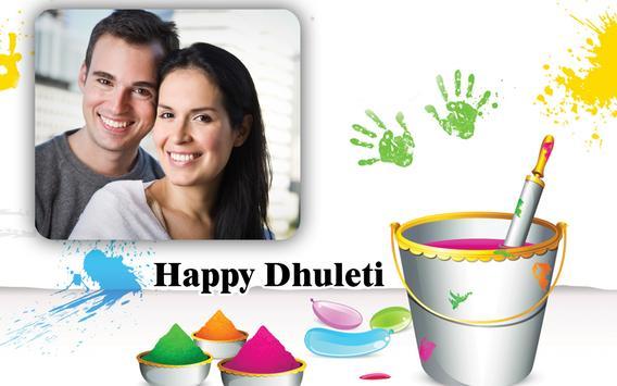 Happy Dhuleti Photo Frame Editor screenshot 4