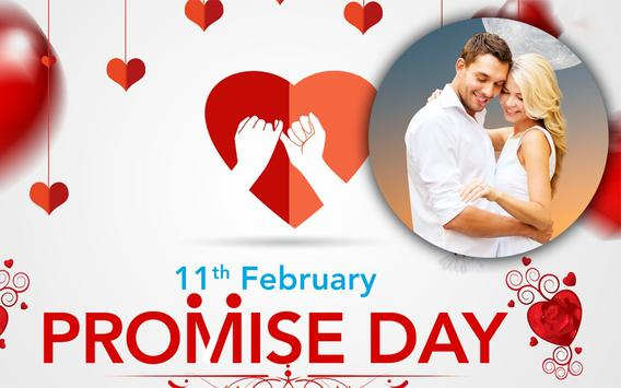 Happy Promise Day Photo Frame Valentine's Special screenshot 3