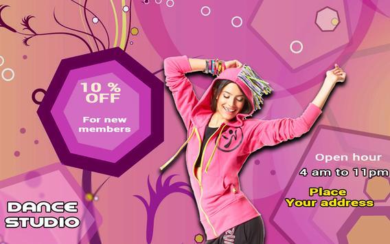 Poster Maker Flyer Designer Ads Page Photo Editor screenshot 11