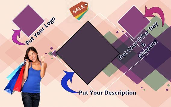 Poster Maker Flyer Designer Ads Page Photo Editor screenshot 12