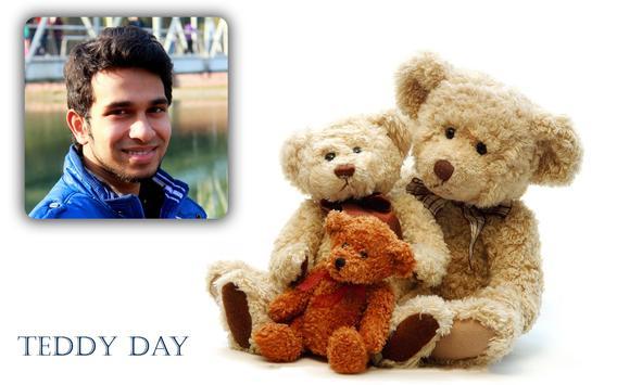 Teddy Bear Day Photo Frame Editor Valentine's Day screenshot 3