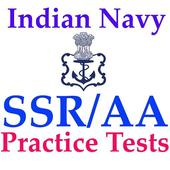 Indian Navy AA SSR Practice Tests With Solutions icon