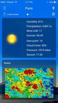 Pronóstico del tiempo captura de pantalla 4