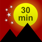 Sunset Sleep Timer - fall asleep quickly icon