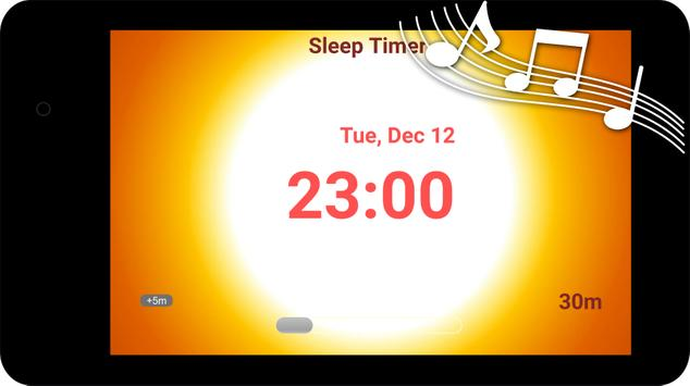 Sunset Sleep Timer - fall asleep quickly poster