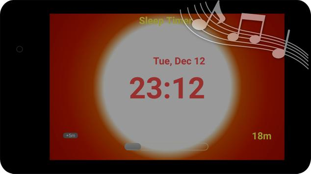 Sunset Sleep Timer - fall asleep quickly screenshot 1