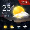 Previsão do tempo - tempo ao vivo, clima preciso ícone